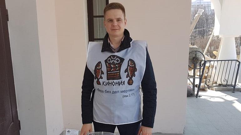 Виталий Курдеко — координатор проекта «Автобус милосердия»