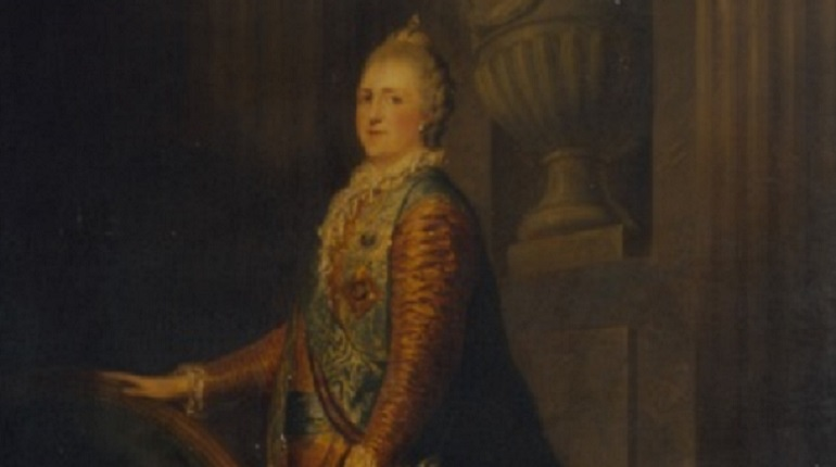 Реставраторы Эрмитажа нашли неоконченную картинупод портретом Екатерины II