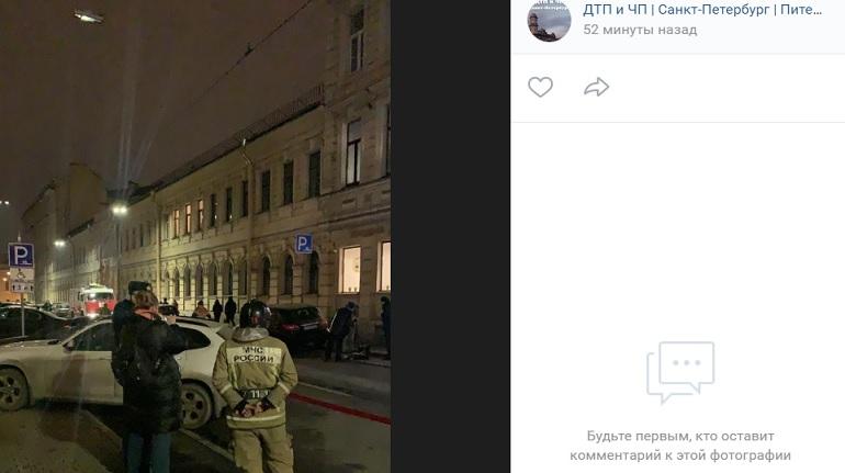 ОтельSolo Sokos эвакуировали: прибыли пожарные и полиция