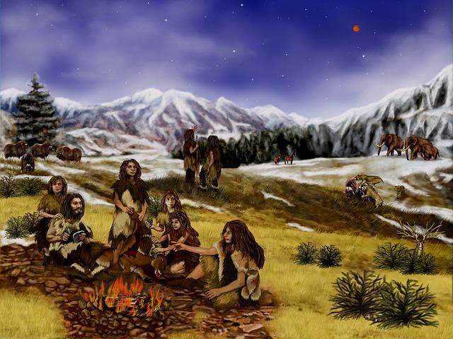 Неандертальцы хоронили в земле своих усопших