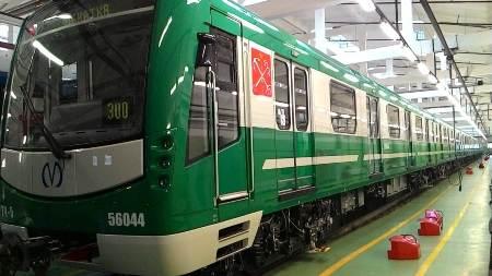 Новый состав «НеВа» пустят по «зеленой» ветке петербургского метро