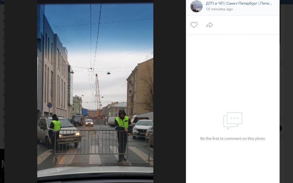 Водители пожаловались на перекрытие Минского переулка