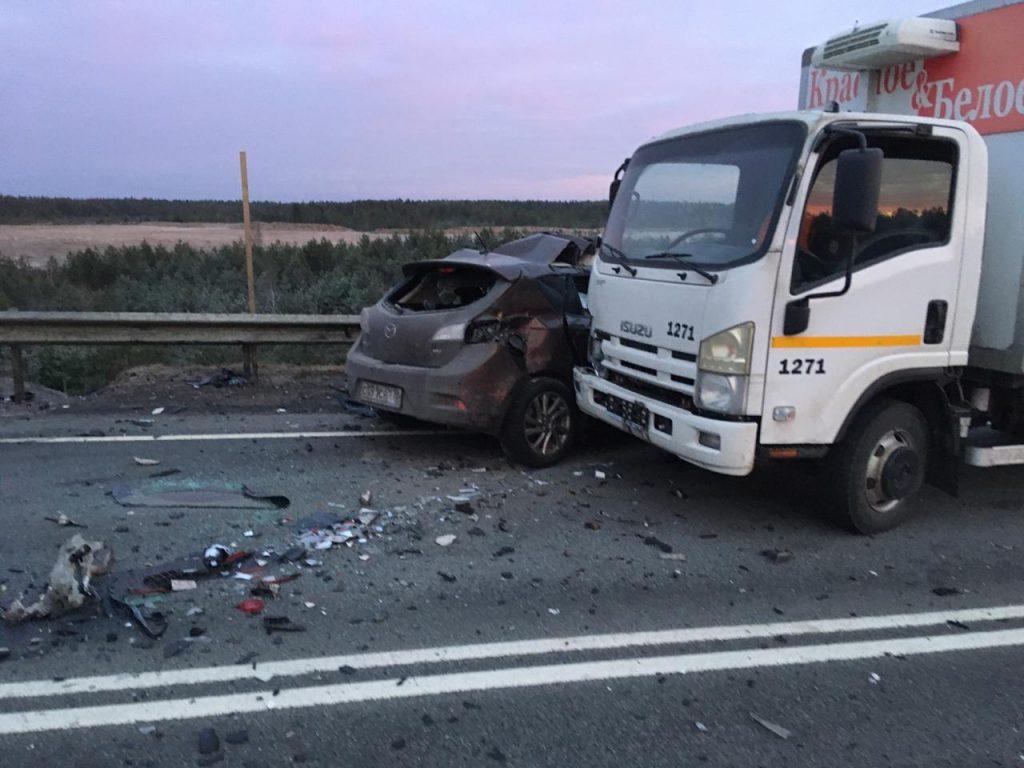 Пострадавшая в ДТП с Mazda на «Коле» скончалась по дороге в больницу