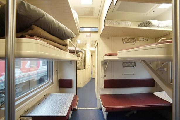 Стало известно, каким будет интерьер в поездах в Крым