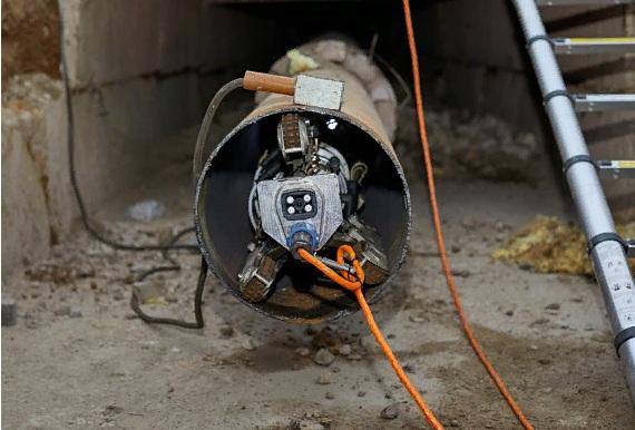 «ТЭК» запустил робота в лопнувший паропровод на заводе «Балтика»