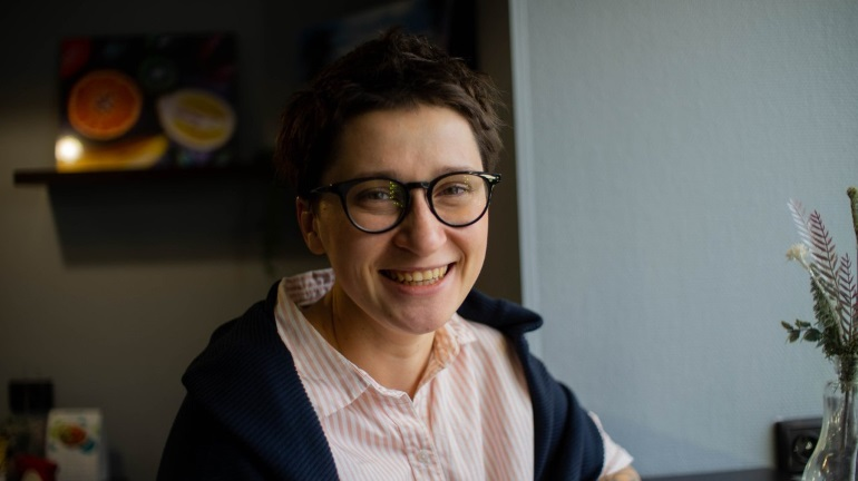 Ольга Сорина — основательница службы психологической помощи для волонтеров «Вдох»