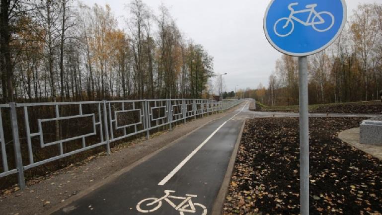 В Петербурге с организации взыскали 700 тысяч рублей за размещение велосипедных дорожек
