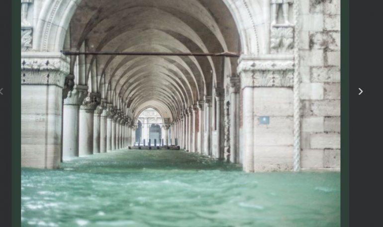 Власти Венеции подготовились к новому наводнению