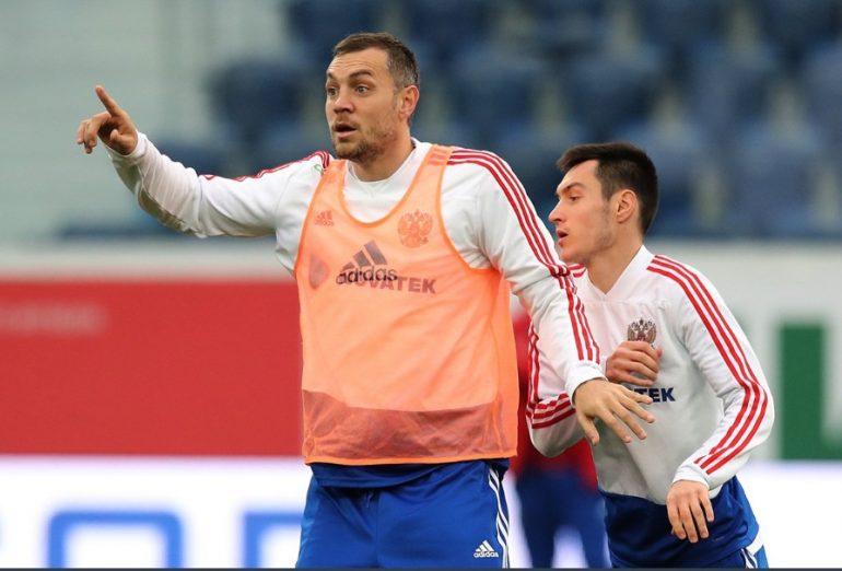 Шестерых «зенитовцев» вызвали в сборную России на матч с Сан-Марино