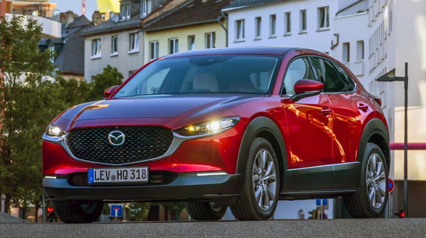 Mazda везет в Россию новый кроссовер CX-30