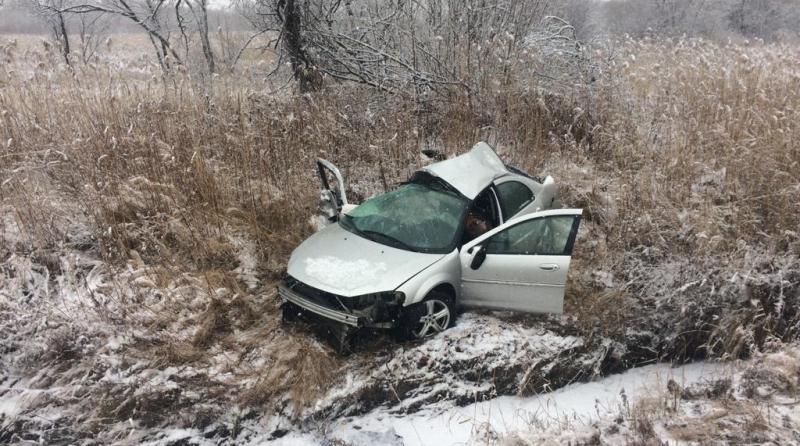 Снегопад спровоцировал массовую аварию под Владивостоком
