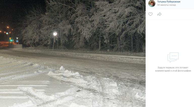 Снегопад в Петербурге: горожане радуются и плачут