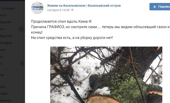 Проспект Кима «облысел» после массового спила деревьев