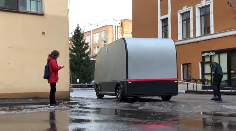 Ralient испытала в Петербурге беспилотный фургон