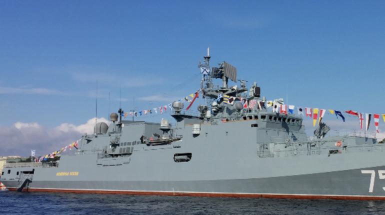 Фрегат «Адмирал Эссен» впервые запустил «Калибры» в Черном море