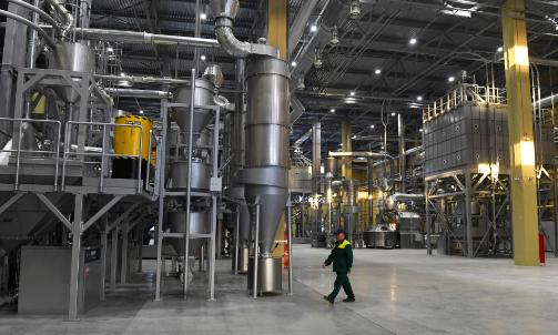 В Ленобласти открыли завод по производству растворимого кофе