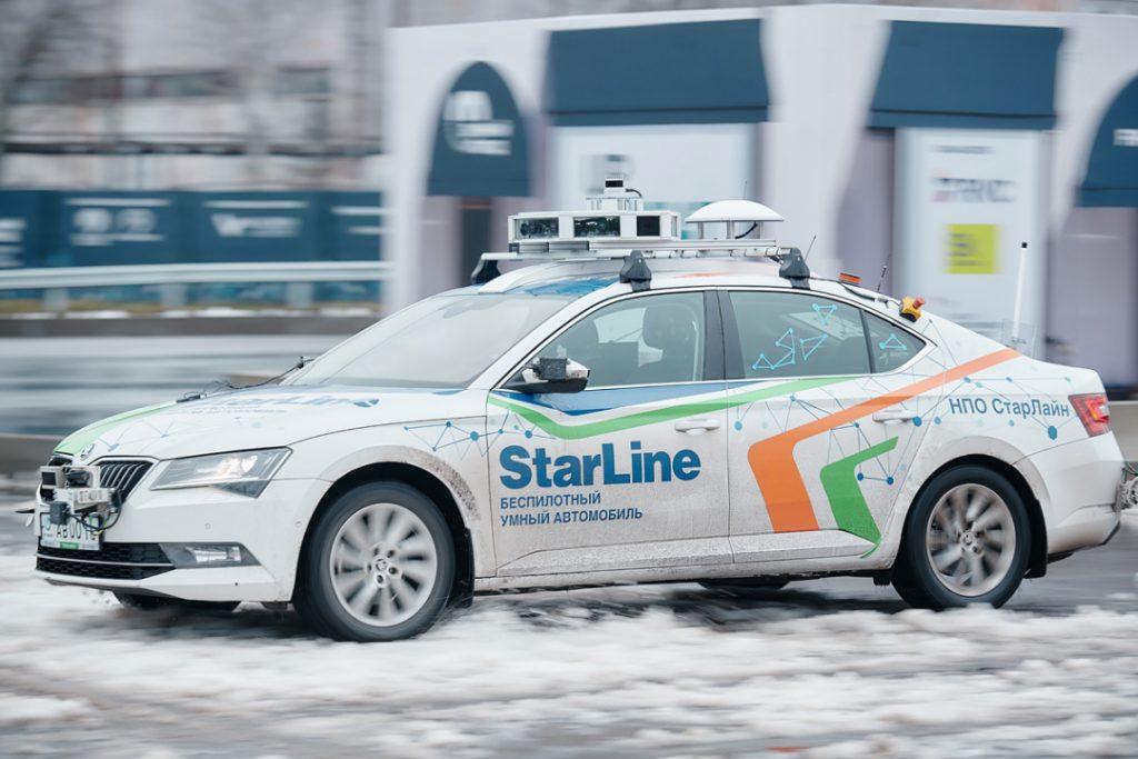На дорогах Петербурга и Ленобласти протестируют беспилотные автомобили