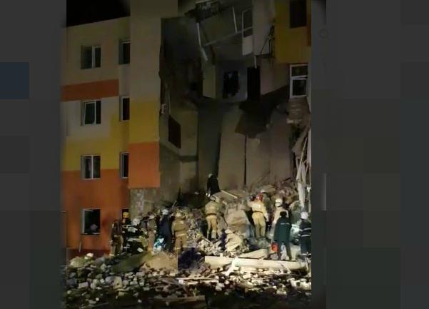 Пять человек пострадали при взрыве газа в жилом доме в Белгородской области