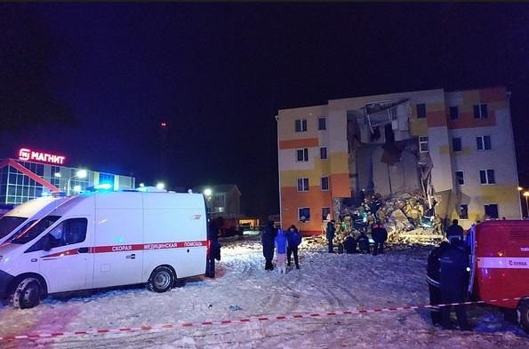 Взрыв газа в доме под Белгородом: 7 фото