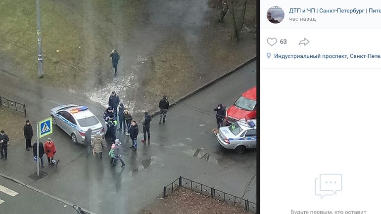 Третье ДТП с пешеходами за утро: на Ленской сбили женщину с коляской