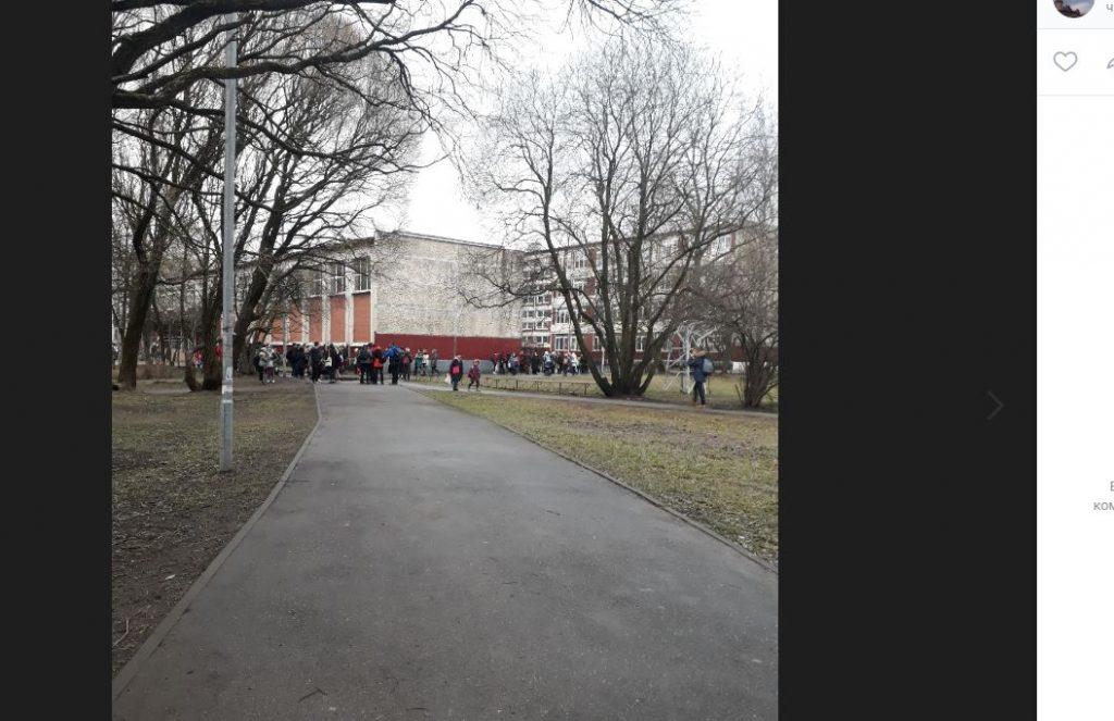 «Минеры» оторвали от занятий учащихся семи школ Петербурга