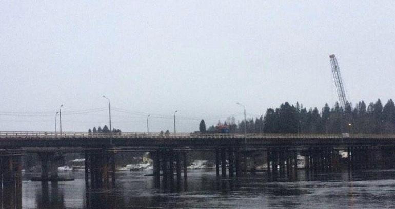 Участок трассы «Скандинавия» перекроют из-за ремонта моста через Вуоксу