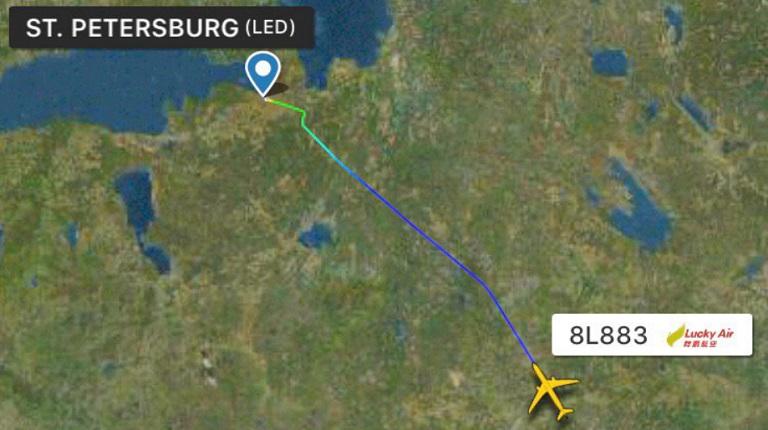 Ушедшие в Москву самолеты вернулись в Пулково под утро