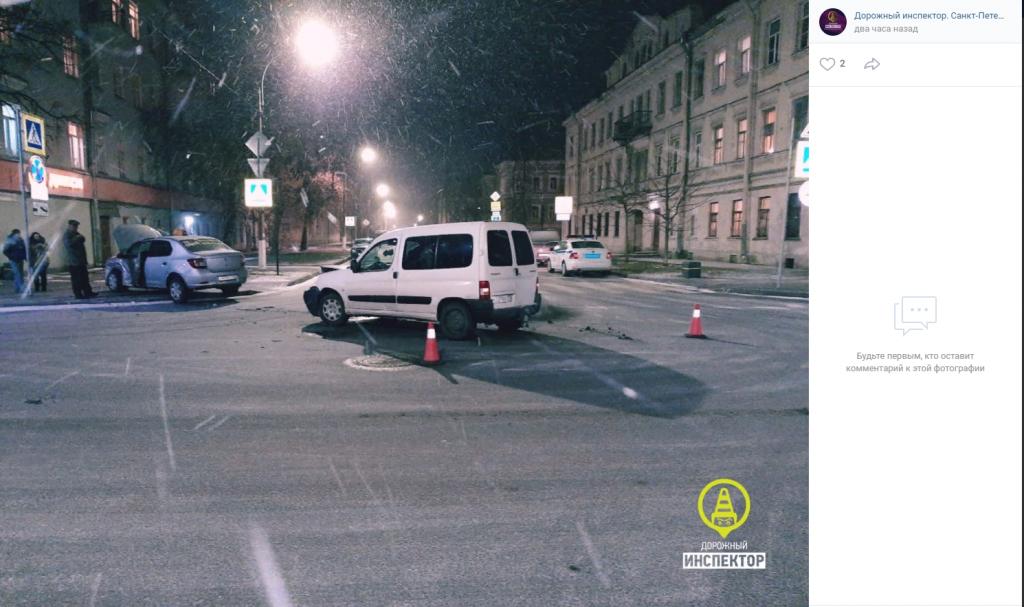 У севшего за руль каршеринга под наркотиками водителя в Кронштадте забирали права