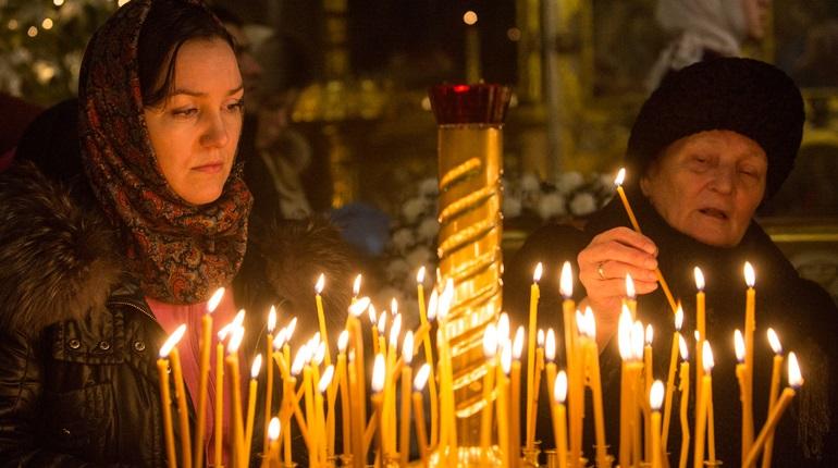 Как Петербург отметил Рождество