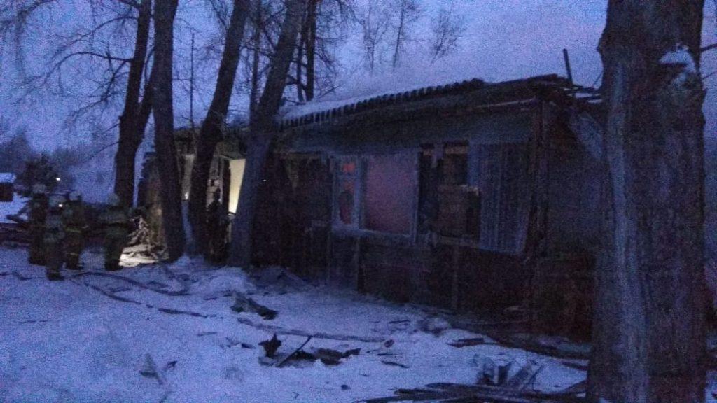 Под Томском в пожаре погибли 11 человек
