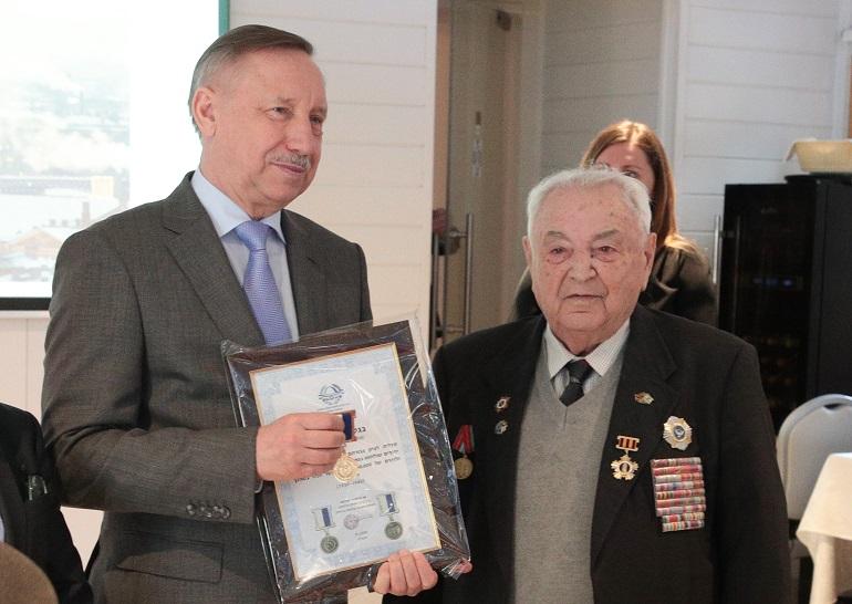 Беглов открыл съезд международной ассоциации блокадников Ленинграда