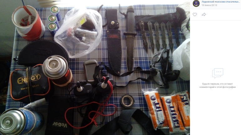 Скальпель и мышеловка: спасатели рассказали, что нужно для выживания на Ладоге