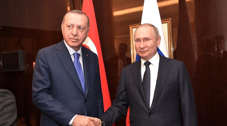 Путин и Эрдоган поговорили по телефону о армяно-азербайджанском конфликте