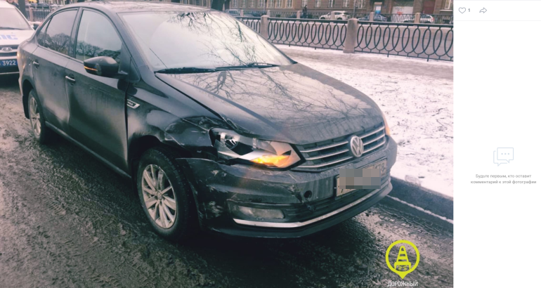 Авария на Петроградке раскрыла тайны таксиста-нелегала