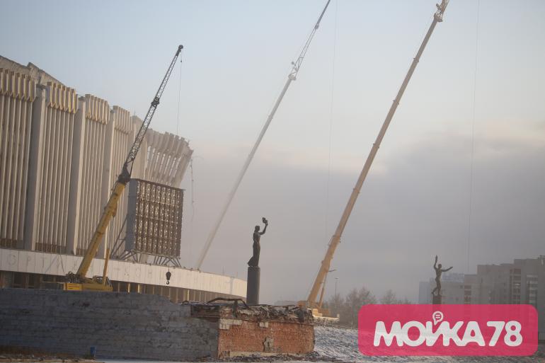 Глава «Геореконструкции»: крыша СКК находилась в аварийном состоянии