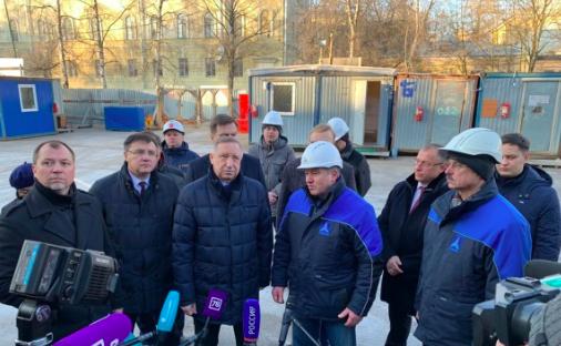 После смены подрядчика гимназию №406 в Пушкине откроют к 1 сентября