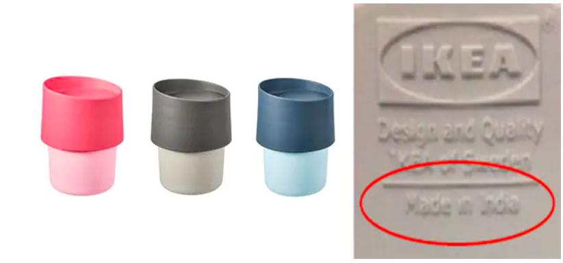 ИКЕА просит петербуржцев вернуть токсичные чашки обратно в магазин