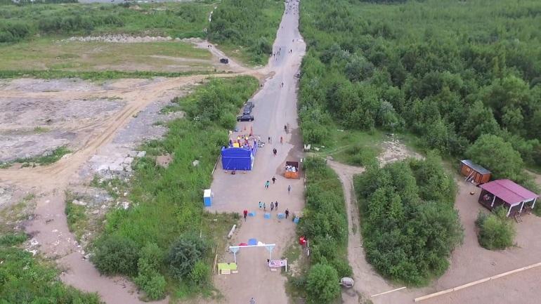 Активисты Красносельского района «обнимут» Жемчужный пляж для его защиты