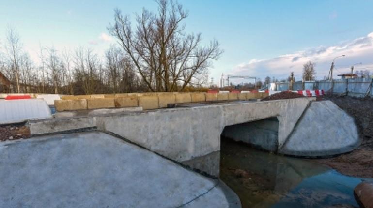 В поселке Александровская временно открыли движение по мосту на Волхонском