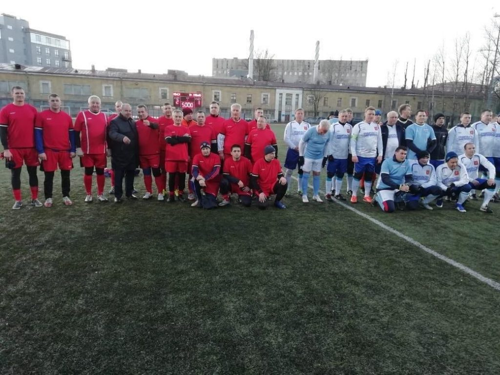 Матч на стадионе «Динамо» в память о защитниках Ленинграда закончился победой силовиков