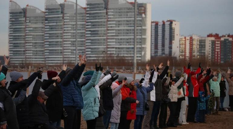 Петербуржцы вышли на защиту «Жемчужного пляжа»