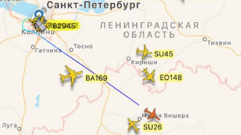 Самолет президентского авиаотряда вылетел из Пулково