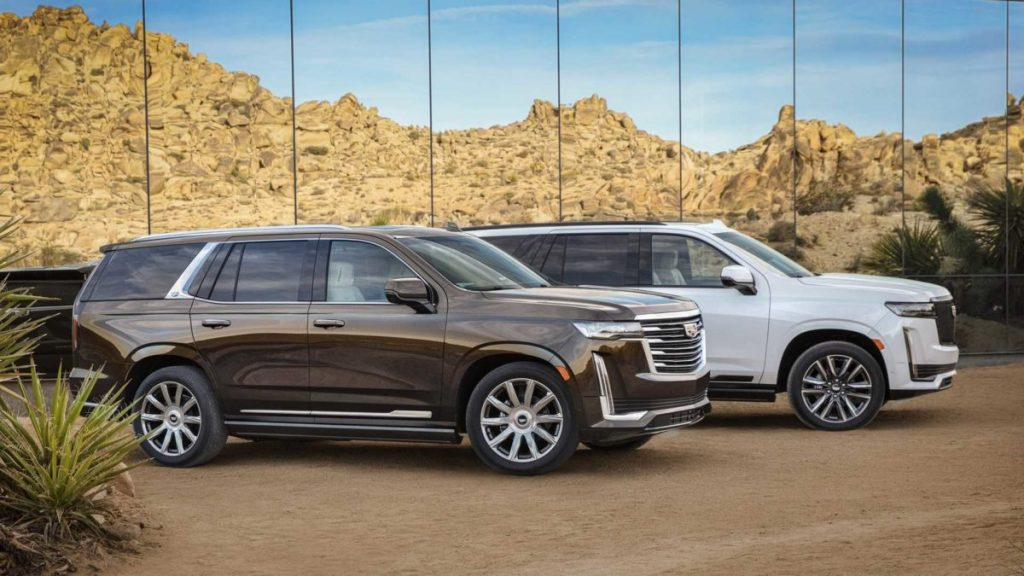Представлен новый внедорожник Cadillac Escalade