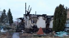 После гибели на пожаре под Кингисеппом матери с ребенком возбудили дело