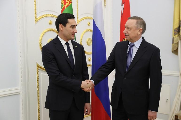 «Петрософт» подписал в Смольном меморандум о сотрудничестве с Туркменистаном
