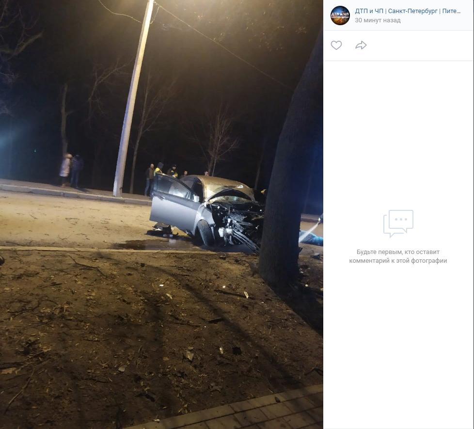 Подробности смертельной аварии в Пушкине: водитель был пьян