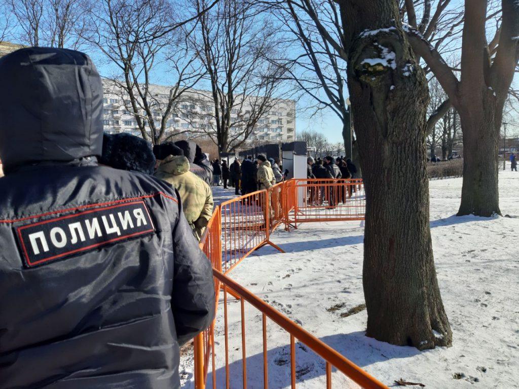 В Петербурге завершился марш памяти Бориса Немцова