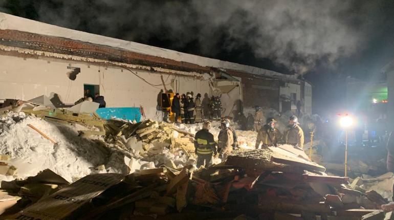 Перед обрушением крыши в новосибирском кафе находились 190 человек