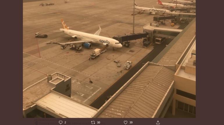 Песчаная буря не дает сотням рейсов вылететь с Канарских островов