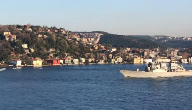 ВМС США: эсминец Ross прибыл в Черное море ради «региональной стабильности»